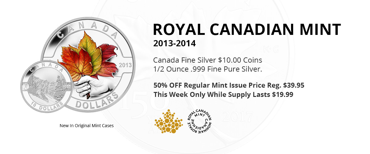 Pacific Coin & Currency, Coin Store Specials Markham Ontario