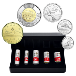 Royal Canadian Mint - 2017 Classic Canadian Coin Special Wrap Roll collection