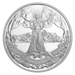Royal Canadian Mint - 2017 Proof Pure Silver Dollar
