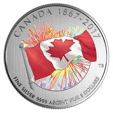 Royal Canadian Mint - 2017 Proudly Canadian coin