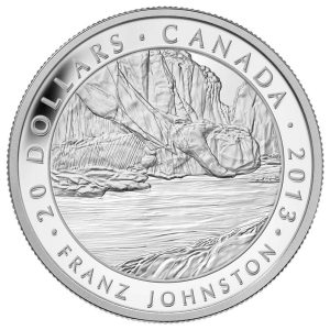2013 $20 Group of Seven: Franz Johnston, The Guardian of the Gorge - Pure Silver Coin