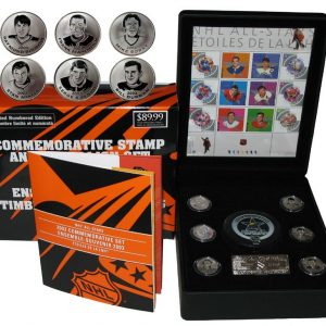 2003 NHL Stamp and Medallion Set
