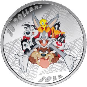 2015 $20 Looney TunesTM: Merrie Melodies - Pure Silver Coin *SOLD OUT AT THE MINT*
