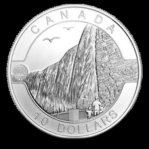 $10 - 2013 O Canada - Niagara Falls .9999 Fine Silver.